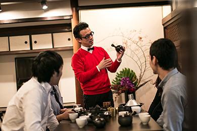 茶論会 お茶講座3